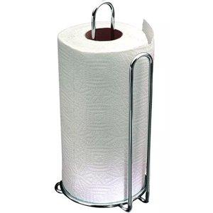 Suporte Porta Rolo De Papel Toalha Vertical Cozinha Aço