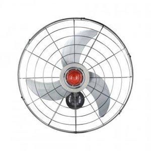 Ventilador Parede Power 70 Ventisol 70.CM Grade Metal Preto 127.v