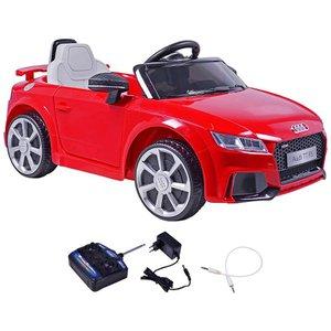 Carrinho Elétrico Infantil Audi TT Vermelho 12 Volts Com Controle Belfix