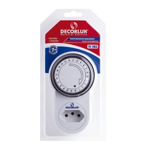 Temporizador (Timer) Analógico - Decorlux - Bivolt - 10A
