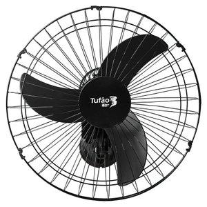 Ventilador de Parede Tufão Max 50cm Bivolt M2 Preto Loren Sid