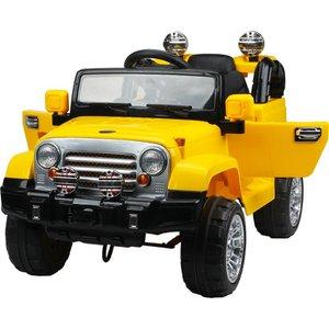 Jipe Elétrico de Trilha com Controle Remoto 12V Amarelo 927600 - Belfix