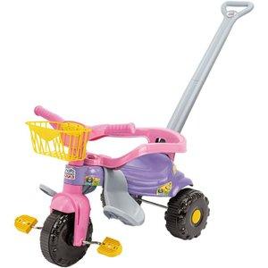 Triciclo Tico-tico Festa Rosa 2561L Magic Toys