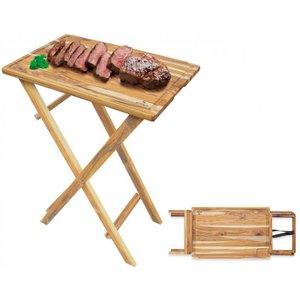 Mesa para Churrasco Desmontável - Stolf 58 x 38 x 82 cm