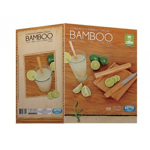 CONJUNTO CAIPIRINHA 5 PCS BAMBOO
