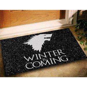 Tapete Geek Game Of Thrones Winteris Coming 60x40 - preto