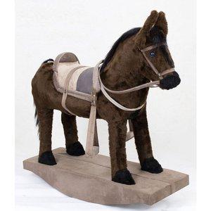 Cavalinho Balanço Brinquedo Fazendinha Cavalo De Sela