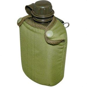 Cantil de Plástico Nautika 0,9 Litros com Capa Verde