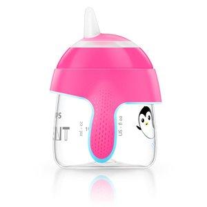 Copo Pinguim Rosa Avent 200 ml