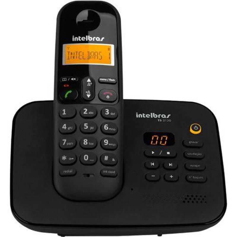 Telefone Sem Fio Digital Com Secretária Eletrônica Intelbras