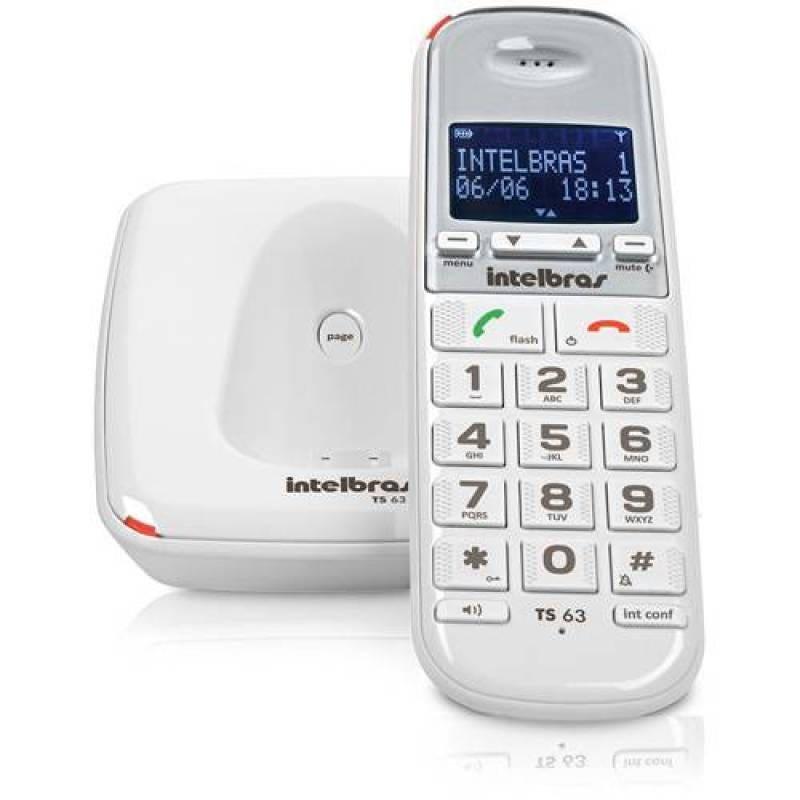 Telefone Sem Fio TS63V - Branco