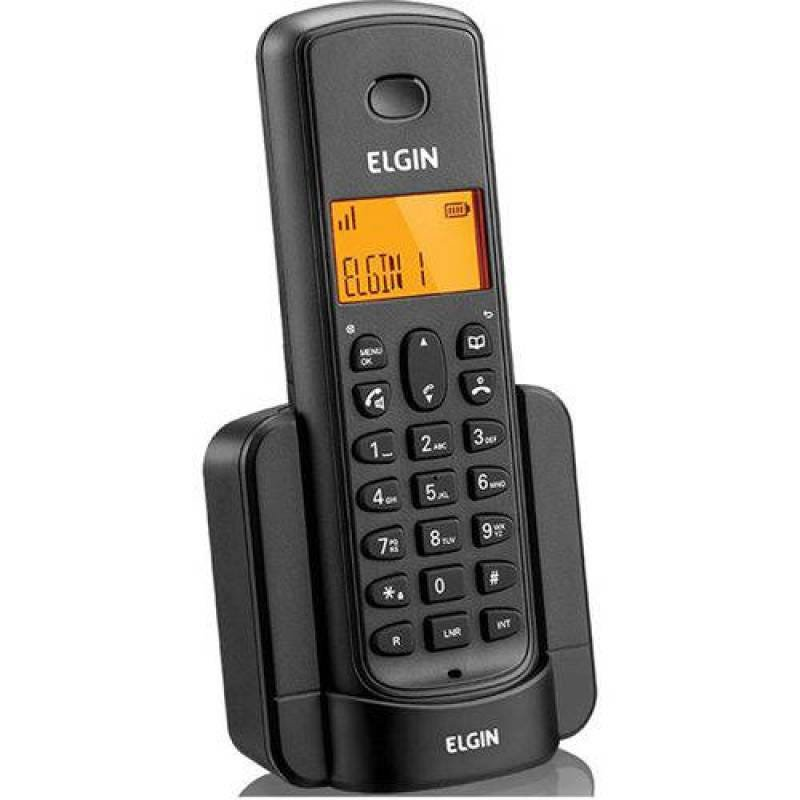 Telefone Sem Fio Ramal P/Expansao Linha 8001 Pt Elgin