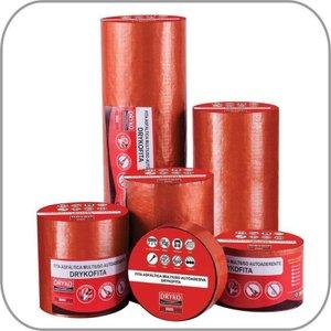 Manta Térmica Adesiva Asfaltica Cor Telha 10 Cm X 10 Metros Dryko (Kit) 14 Rolos