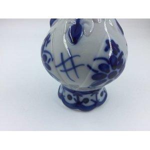 Ânfora de Porcelana Feita e Pintada a mão - Monte Sião