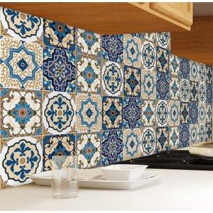 Adesivo de Azulejo Braga 10 x 10cm 100 unidades