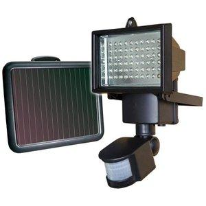 Refletor de Led 60 LEDs Com Sensor de Presença e Energia Solar