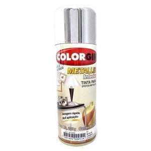 Tinta Spray Metallik Cromado Brilhoso Colorgin