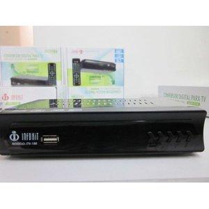 Conversor Digital para TV com visor LED HDMI e USB - ISDB-T