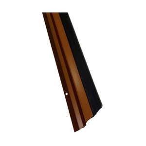 Veda fresta para porta 80cm borracha epox marrom Reisam
