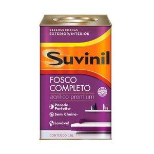 Tinta Látex acrílica Fosco completo 18 litros pérola Suvinil