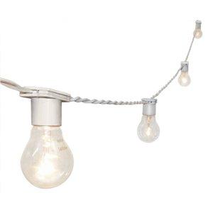 Varal De Luzes Cordão de Iluminação Gambiarra lâmpada 10M BR