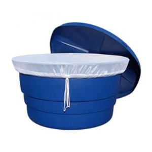 Capa para caixa dágua redonda de 1000 litros telada