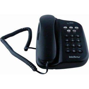 Telefone com Fio Intelbras TC500, Chave de Bloqueio - Grafite