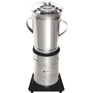 Liquidificador Triturador Industrial BaixaRotação em Inox 6L
