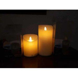 Vela LED Decorativa 15CM Luz Amarela 7951