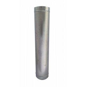 Duto galvanizado para chaminé de 200 mm de diâmetro