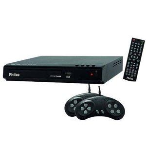 Sv Vcd Player Game com Entrada Usb 2.0 Philco PH150