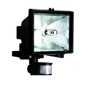 Refletor com Sensor 500W Retangular Bivolt 8903 Preto - Brasfort