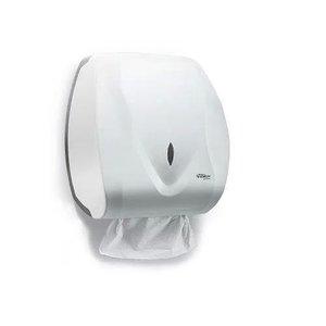 Dispenser Toalheiro Papel Toalha Velox Branco Premisse C19533