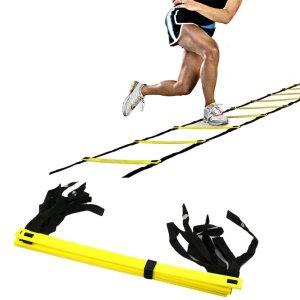 Escada Agilidade Treinamento Funcional 10 Degraus 5m Yangfit