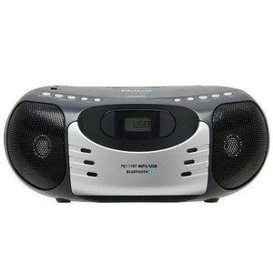 Som Portátil 5w Rms Philco - Rádio Fm, Mp3, Entrada Usb E Auxiliar, Display Digital - Pb119bt Bivolt