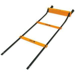 Escada de Agilidade Treinamento Funcional Preto/Laranja