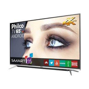 Android TV 65'' Smart 4K PH65G60DSGWAG Philco Bivolt