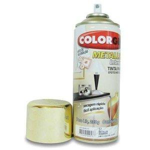 Spray Metallik Interior Dourado Ref 057 - COLORGIN