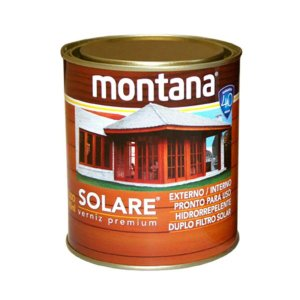 Verniz Premium Solare acetinado 900 ml transparente Montana