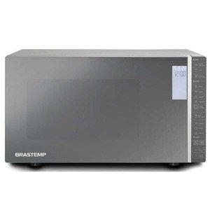 Micro-ondas Brastemp 32 Litros cor Inox Espelhado com Grill e Painel Integrado - BMG45AR