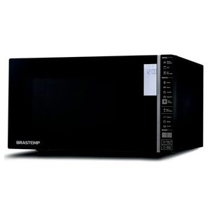 Micro-ondas Brastemp 32 Litros Preto com Grill e Painel Integrado - BMG45AE