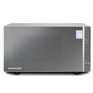 Micro-ondas Brastemp 32 Litros cor Inox Espelhado com Painel Integrado - BMS45CR