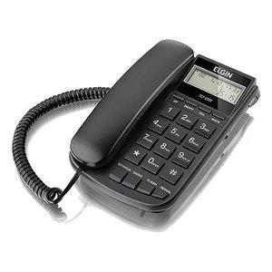 Telefone com Fio - Bloqueio de Ligacoes Digital - Identificador de Chamadas DTMF/FSK TCF 2500 Preto
