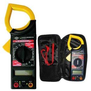 Alicate Amperimetro Digital Brasfort com Estojo modelo 8559