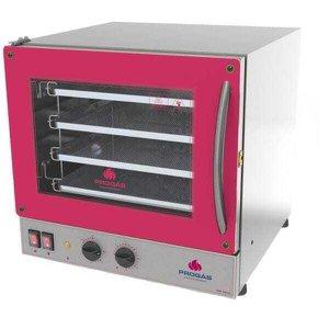 Forno De Inox Eletrico Industrial Progás Para Pizza 4 Assadeiras 220 volts