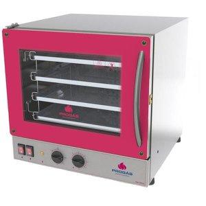 Forno De Inox Eletrico Industrial Progás Para Pizza 4 Assadeiras 127 Volts