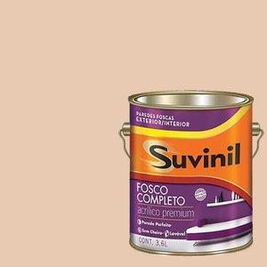 Tinta Acrilica Fosca Premium Suvinil Amêndoa Torrada 3,6L.