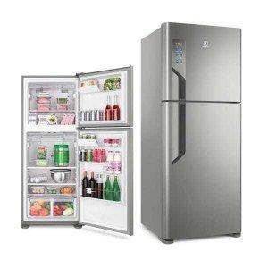 Refrigerador Frost Free Inox TF55S 431 litros- Electrolux 110V