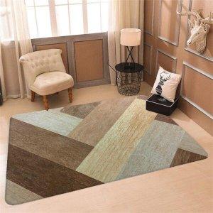 Tapete Sala Wevans Texture Wood Único
