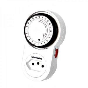 Timer Temporizador Analógico Bivolt Automátic MP1500 MANPLEX